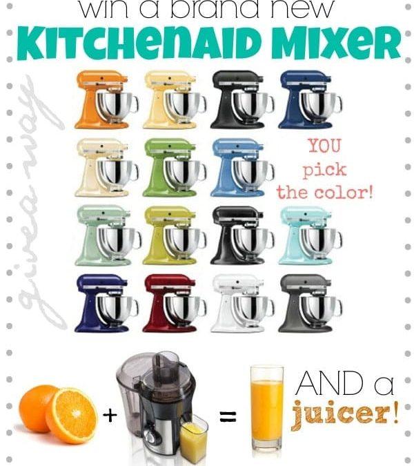 Win a KitchenAid Mixer and Juicer