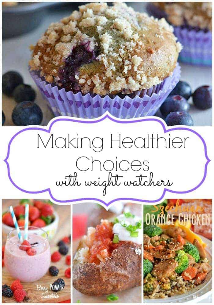 Making Healthier Choices with Weight Watchers #SimpleStart