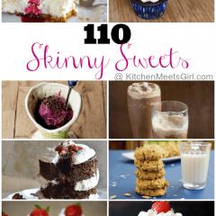 110 Skinny Sweets Roundup