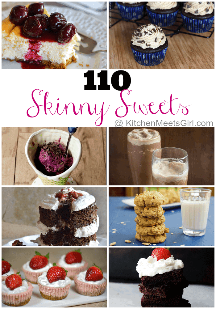 110 Skinny Sweets Roundup