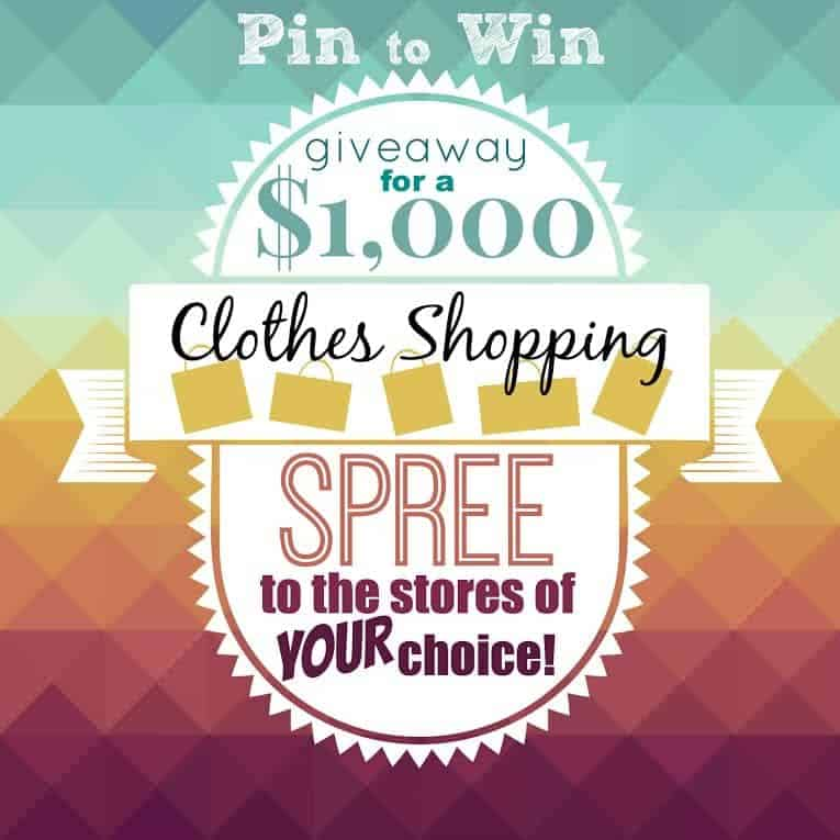 $1,000 Clothes Shopping Giveaway