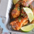 Sticky Honey Sriracha Wings