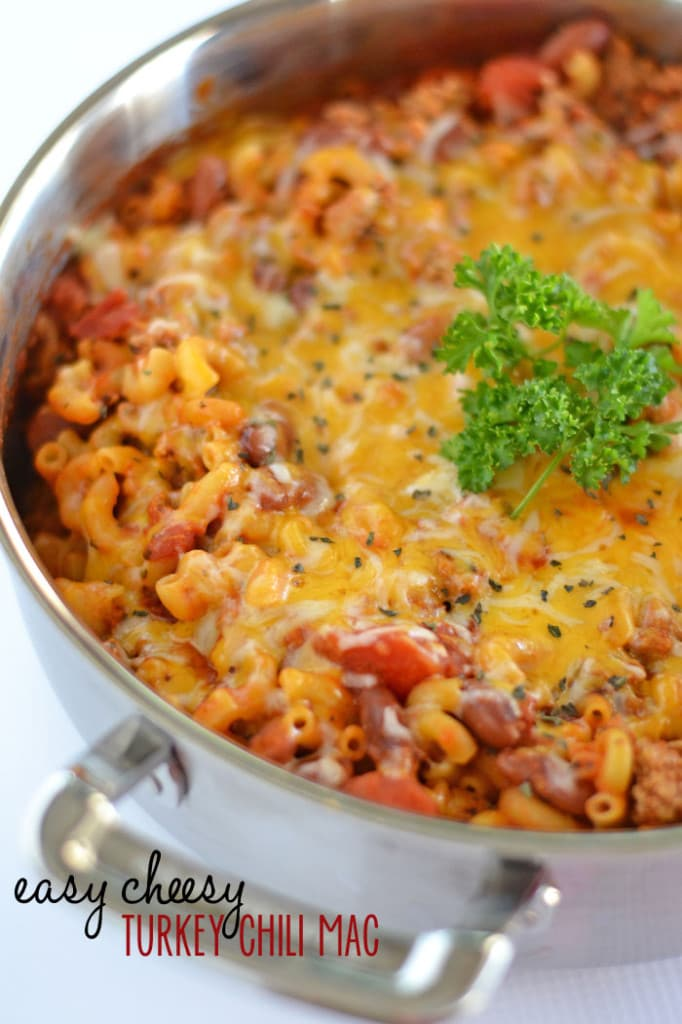 Easy Cheesy Turkey Chili Mac