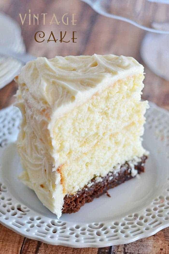 Vintage Cake Kitchen Meets Girl
