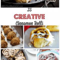 35 Creative Cinnamon Rolls Roundup