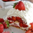 Strawberry Coconut-Lime Icebox Cake