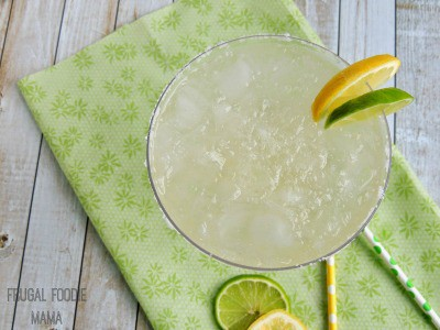 Sparkling Limon-Lime Margarita