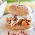 Honey BBQ Chicken with Ranch Slaw