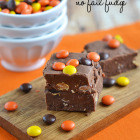 Reese's Pieces No Fail Fudge
