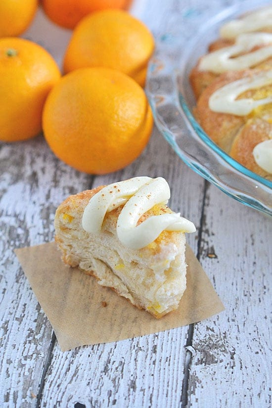 This Easy Orange Coffee Cake takes just 10 minutes of prep time and 20 minutes to bake - it's perfect for a quick and easy breakfast treat, and special enough to serve when entertaining.