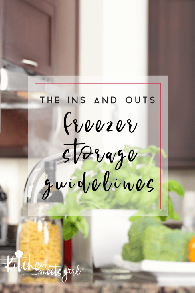 Have you ever wondered how long you could freeze something and it still taste okay when you defrost it?  And if you should freeze it in the first place?  This nifty guide goes over the ins and outs of freezer storage so you know how long your frozen foods will taste their best.