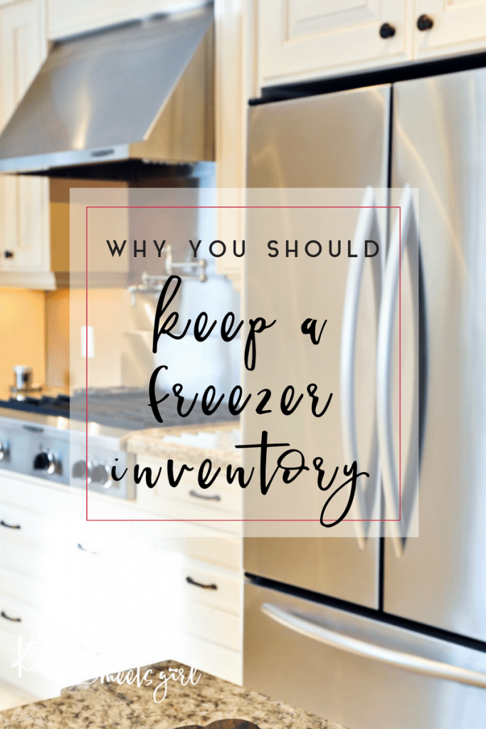 There are a number of reasons why you should keep a freezer inventory list. Seems logical, but the number one reason I use one is so I know what in the heck is in there. Oh, and also? It saves me MONEY.