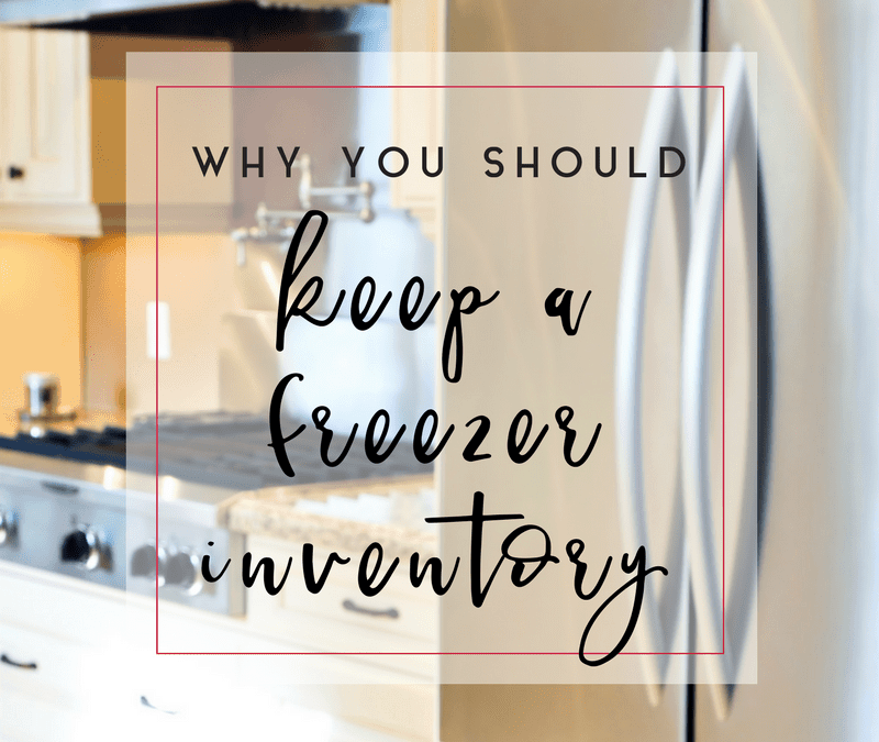 Why You Should Keep a Freezer Inventory List