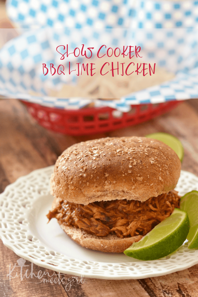 Slow Cooker BBQ Lime Chicken