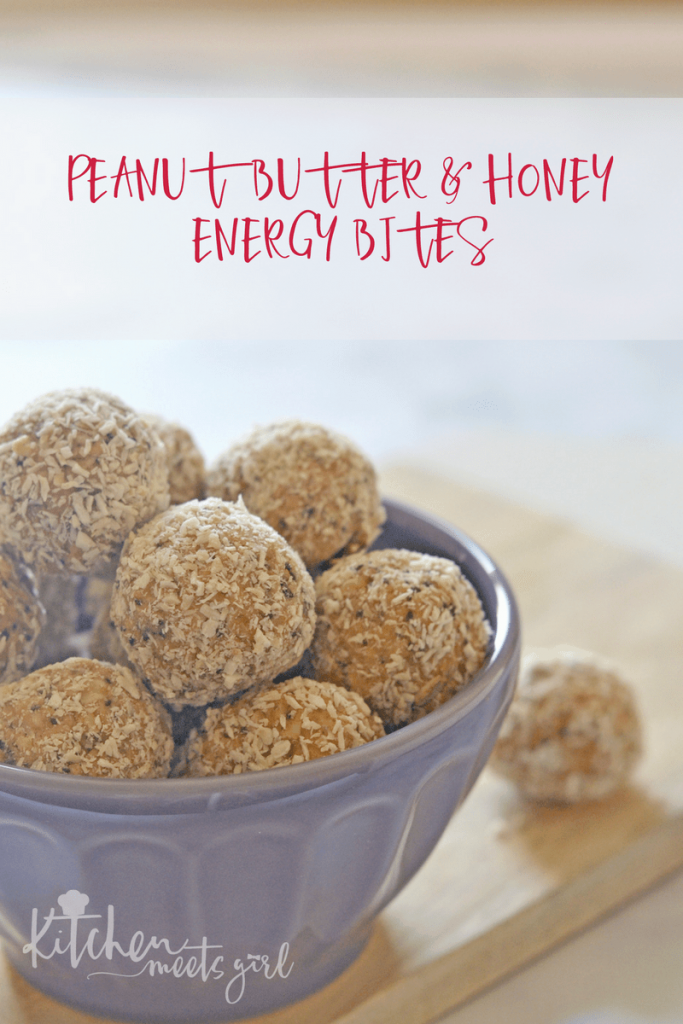 Peanut Butter and Honey Energy Bites