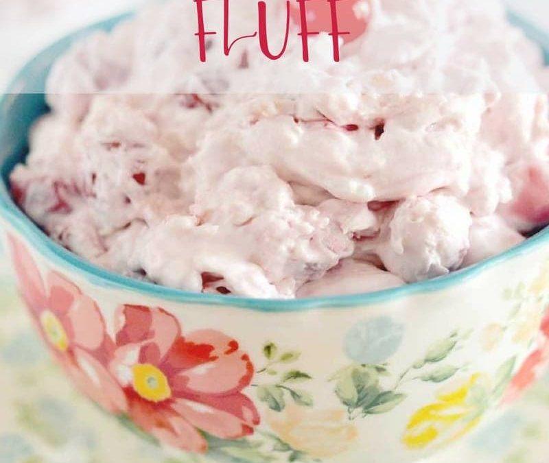 Easy Cherry Fluff