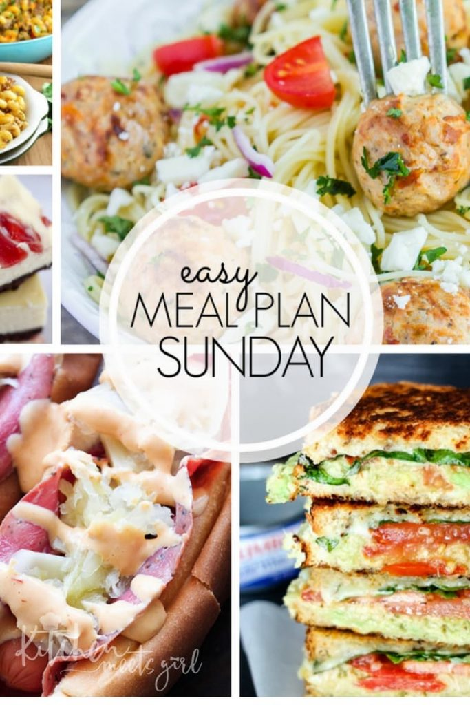 Lasagna Rolls with Meat Sauce – Easy Meal Plan Sunday {Week 7}