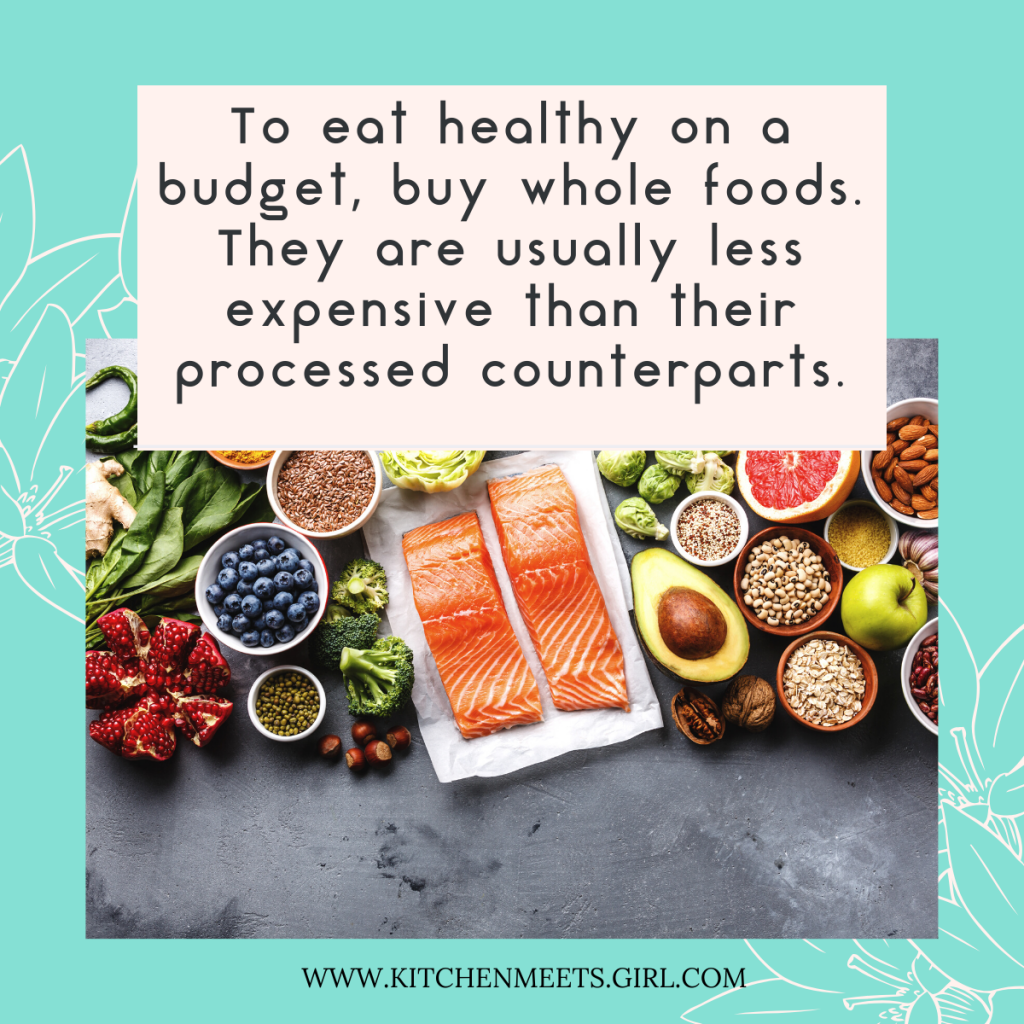 Eating healthy can be tricky, not to mention expensive!  But there are still a lot of ways that you can eat healthy and not break the bank.  Here are 10 Easy Tips for Eating Healthy on a Budget!